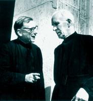 Jean Daniélou et Henri de Lubac