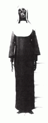 Le squelette de Mélanie Calvat (avec photo)