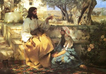 Jésus et la femme