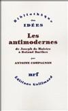 Le débat sur la modernité et l'antimodernité