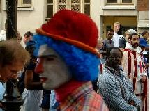 Le clown de Saint Nic