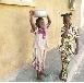 Sombreval en Afrique